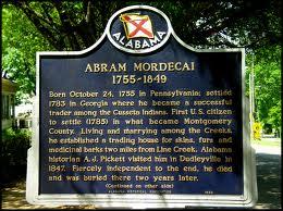 mordecai, abram historical marker
