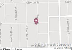 sayre street school map