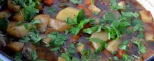 PATRON + RECIPE WEDNESDAY – 1890s recipe for Irish Stew- It takes a while to cook…but oh so good!