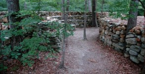 A Stone Wall of Love – built for his great-great-grandmother – [film and photograph]