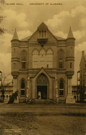 Clark Hall around 1900