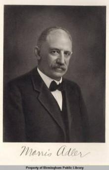 Biography: Morris Adler born April 4, 1855 – photograph