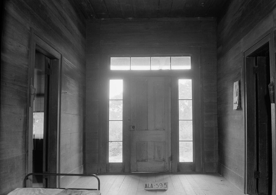 Berry-Braswell2 House Front Door photographed by W. N. Manning June 15, 1935