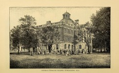 Education for women abounds in 1887 Tuscaloosa – Great illustrations of the buildings