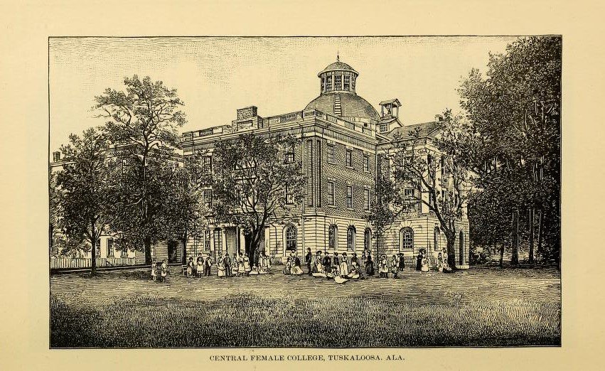 Did you know there were four colleges for females in the 1830s Tuscaloosa, Alabama?