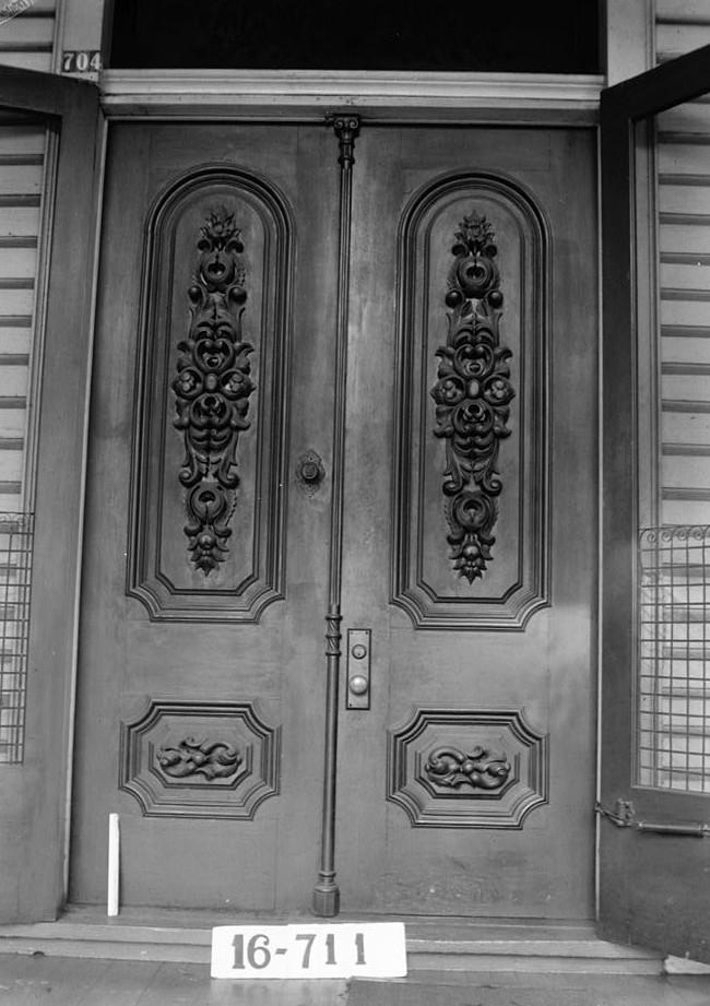Front doors Dawson Vaughan house