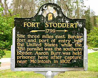 Ft Stoddert sign