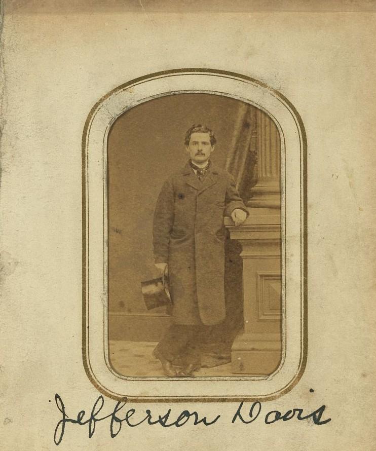 Jefferson Davis 1857