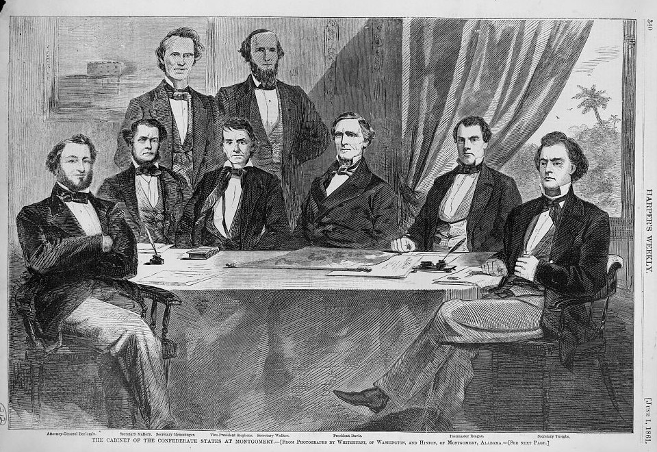 Montgomery cabinet of confederacy