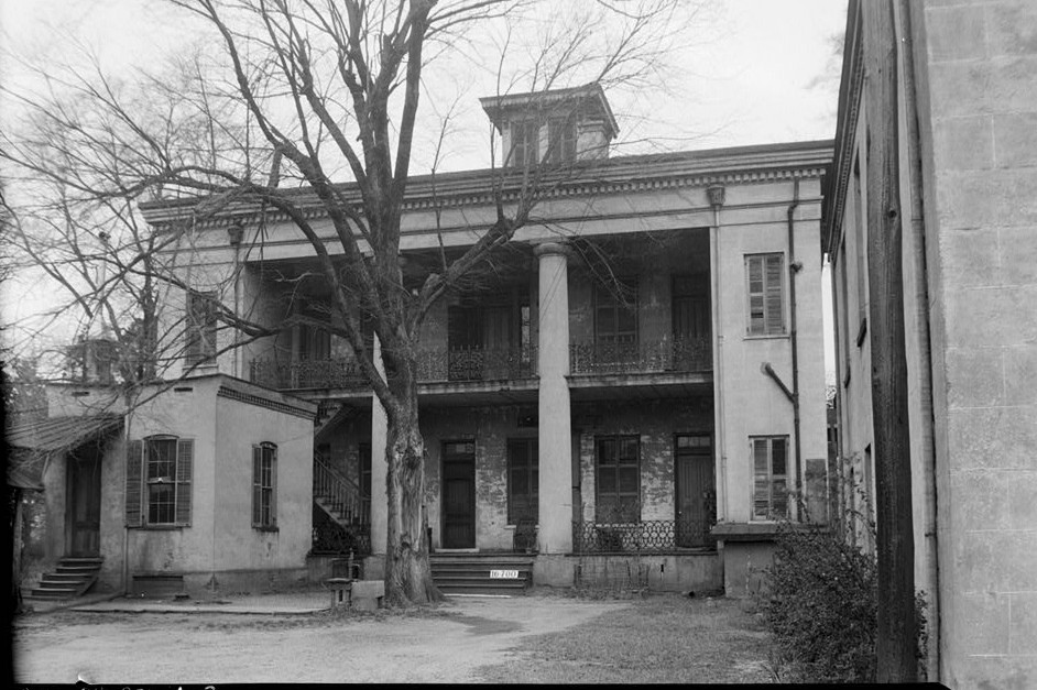 Sturdivant Hall 1934 rear view showing kitchen