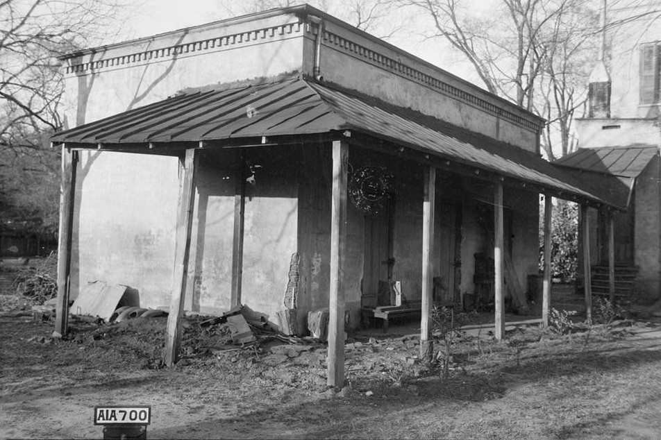 Sturdivant Hall 1934 smoke house