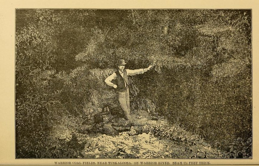 1888 map of Alabama includes Jonesboro