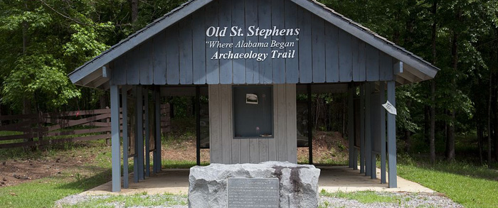 Did you know the ghost town of Old St. Stephens, Alabama had a Lover's leap?