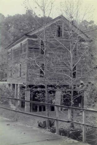 old mill Pleasant Gap, Cherokee County, Alabama