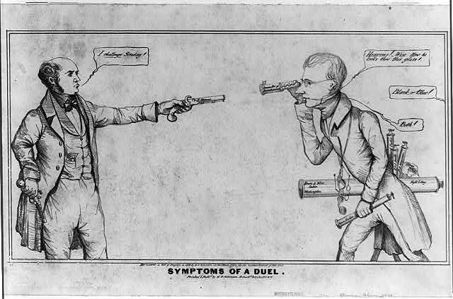 symptoms of a duel 1839