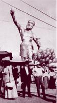 vulcan on statue