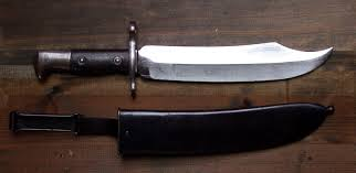 Bowie Throwing knife 2