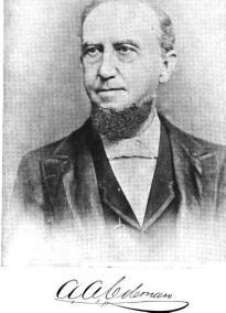 Biography: Judge Augustus Aurelius Coleman born May 21, 1826 – photograph