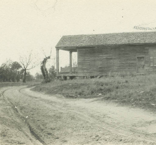 Dr. Cicero Stovall's office in Glennville, Alabama. march 23, 1917 - built ca. 1867