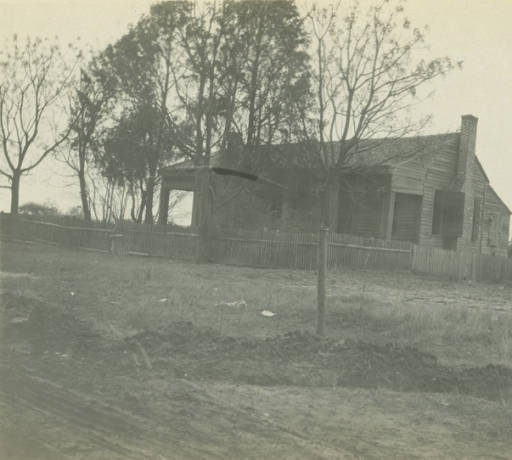 Gamble home in Glennville, Alabama. march 23, 1917