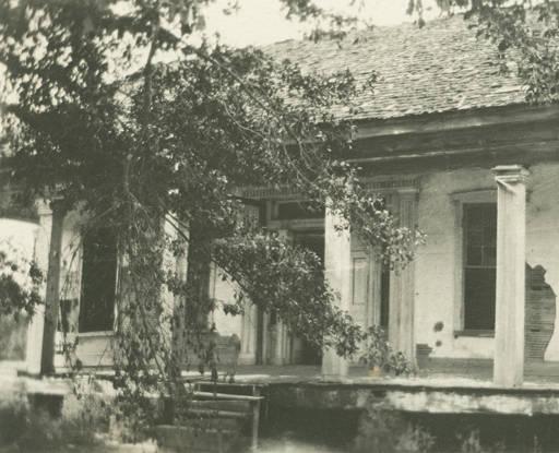 House near Glennville, Alabama.
