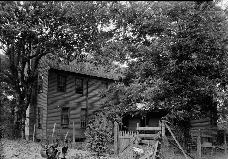 Irwinton Inn, se. rear and side