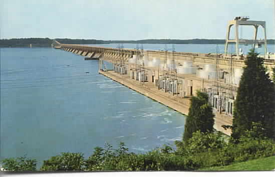MuscleShoals dam