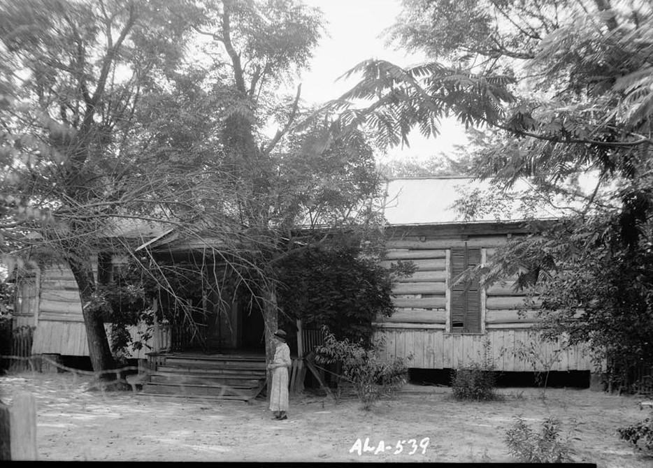 Octavia Adkinson House, Wilson Road, Peachburg, Bullock County, AL W. N. Manning, Photographer, July 17, 1935