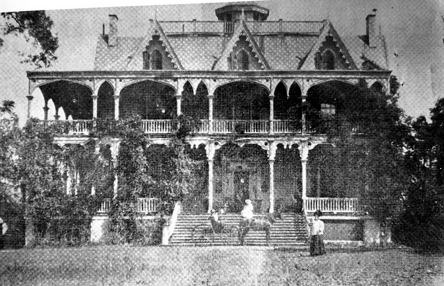 Parsons, Governor Lewis home