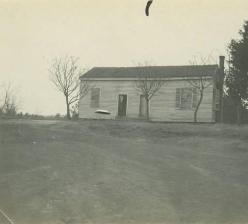 School building in Glennville, Alabama March 23, 1917