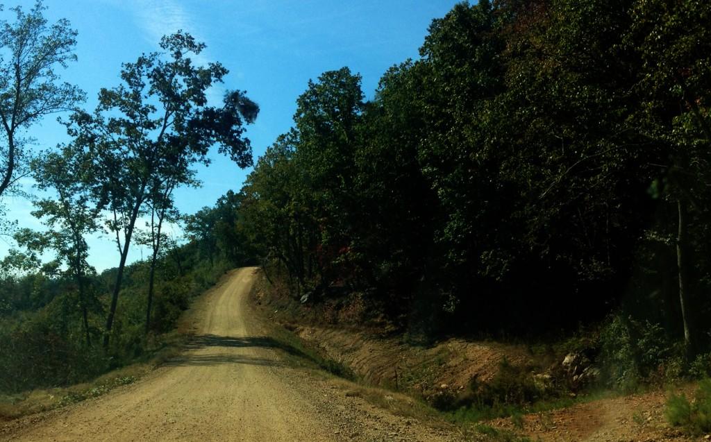 dirt road northeast alabama