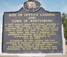 Huntsville could have been named Dittosville!