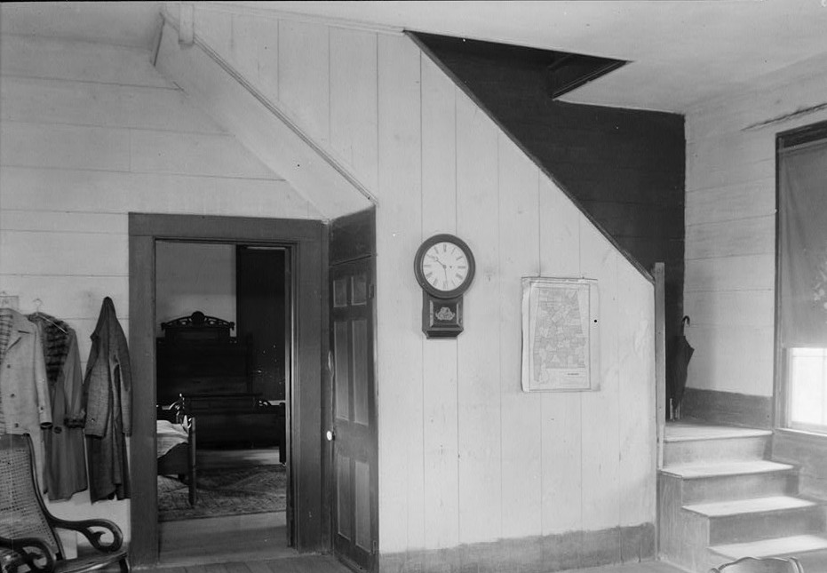 irwinton stairs in dining room
