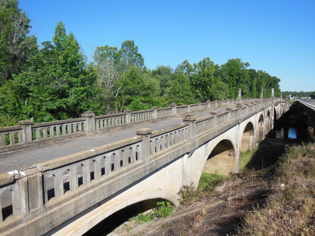 Veterans Memorial Bridge, Pea River, Highway 231, Alabama.