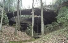 The Indian Legend of Natural Bridge, Winston County, Alabama