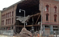 Historic Montgomery Theatre partially collapses