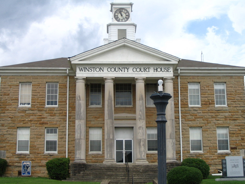 PATRON + Winston County was first named Hancock County