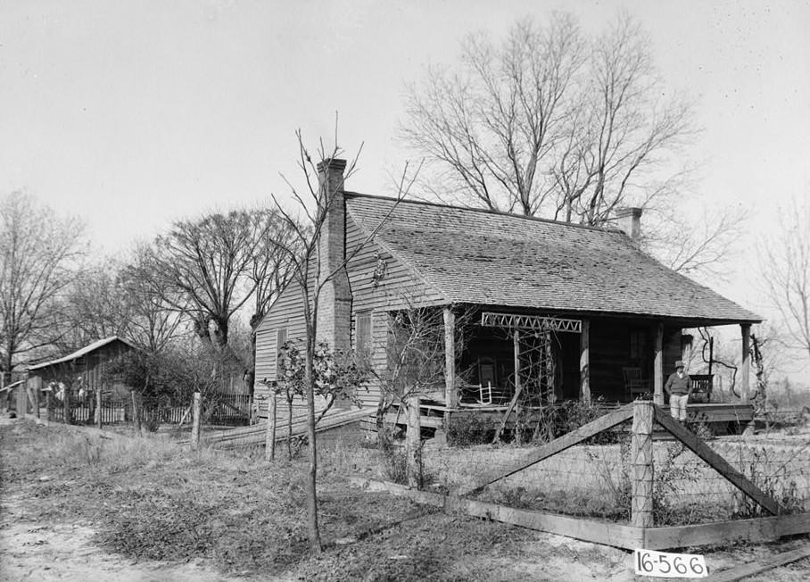 Colonel Baldwin M. Fluker House, Abbie Ridge Road, Shorterville, Henry County, AL