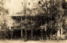 The First Home built in Eufaula, Alabama – Hotels, Bowie Knives, Pistols & Fighting