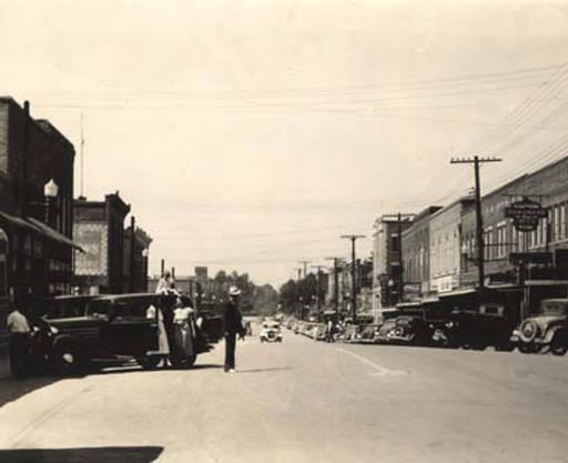 Guntersville Main street ca. 1939