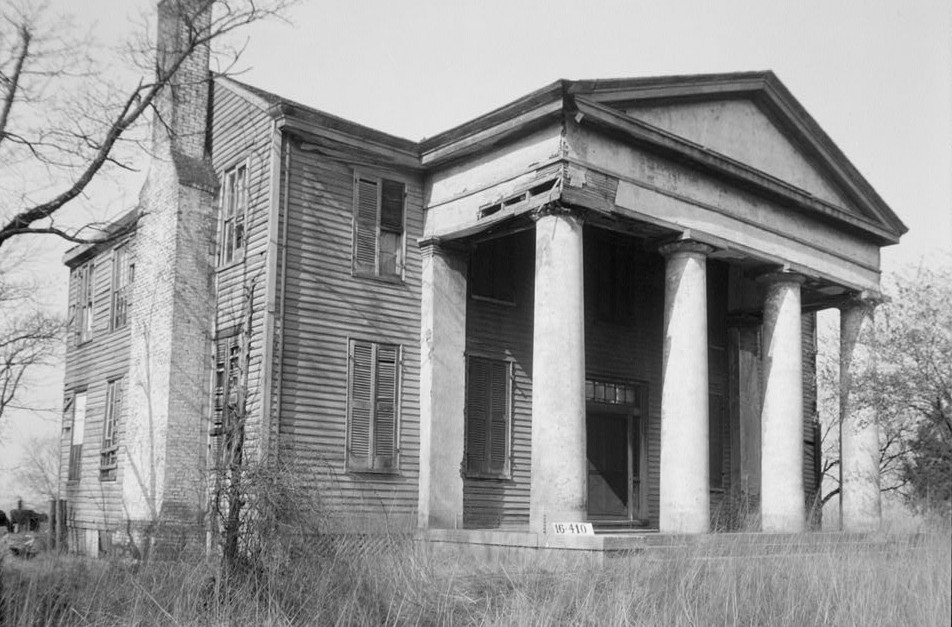 Horton- McCracken House, Meridian Pike, Huntsville, Madison County, AL