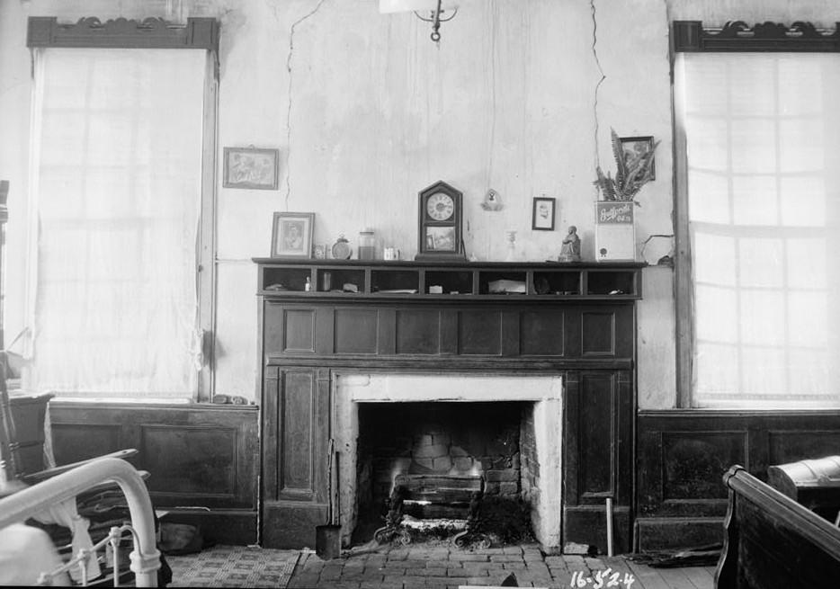 Irwin-McAllister House, Fort Gaines Highway, Shorterville, Henry County, AL