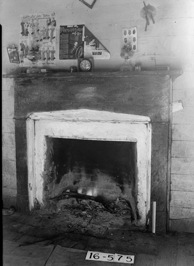 chitley house bedroom fireplace