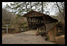 Clarkson Covered Bridge, Cullman County – one of the longest covered bridges standing in the Deep South