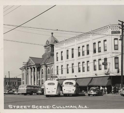 street scene 1940 cullman