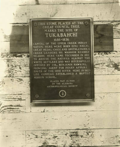 Tukabahchi Monument, close-up of plaque