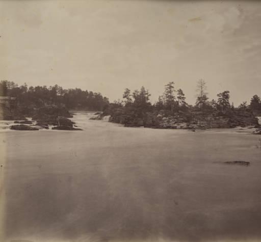 falls of the tallapoosa ca, 1861 Gutekunst, Frederick, Philadelphia, Pennsylvania