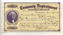Did you known that Federal Income Taxes date back to end of Civil War? Lists of collectors