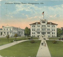 Great history on Alabama Freemasons with vintage pictures & links