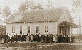 Bohemian hall in 1921 in Silverhills